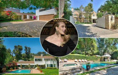 Inside Adele's $30 million Beverly Hills real estate portfolio