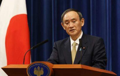 Japanese Prime Minister Yoshihide Suga's support slides as Tokyo Games begin