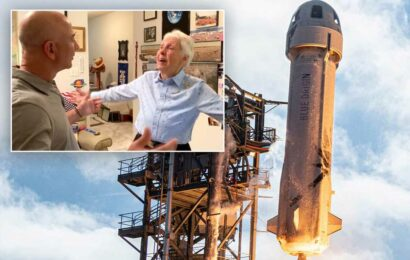 Jeff Bezos says Wally Funk will be fourth passenger on Blue Origin spaceflight