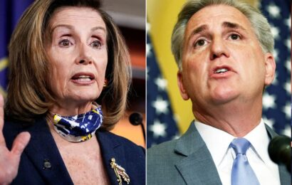 Pelosi, McCarthy big-money donors start giving early toward House races, with chamber up for grabs