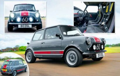 Restored and remastered Mini Oselli Edition gets a new body and 100mph for £100,000