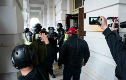 Rioters accused of erasing content from social media, phones