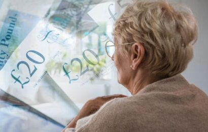 'We've done nothing wrong!' Pensioner recalls 'shock' at her state pension being frozen