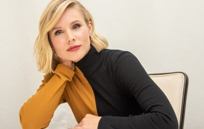'I don't wait for those things to find me:' How actress Kristen Bell combats her anxiety and depression at work