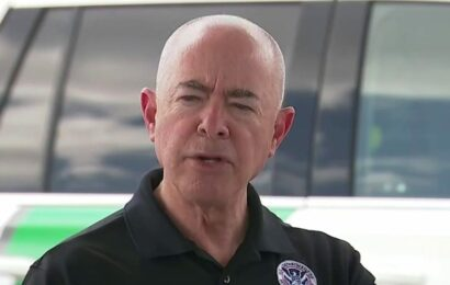 Arizona AG calls on Biden to replace Mayorkas as GOP pressure over border numbers grows