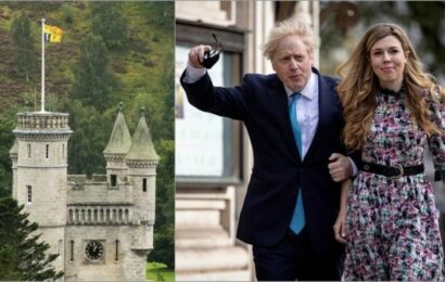 Boris Johnson and Carrie head to Balmoral – a look inside the Queen's Scottish castle