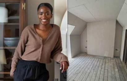 'Loads of secret space': How influencer increased size of her council house renovation