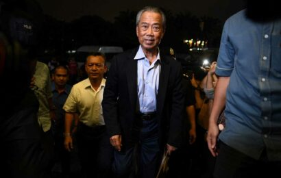 Malaysia's Prime Minister Muhyiddin Yassin and cabinet resign, palace confirms