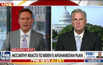 McCarthy leaves door open to Biden impeachment for Afghanistan bombing: 'There will be a day of reckoning'