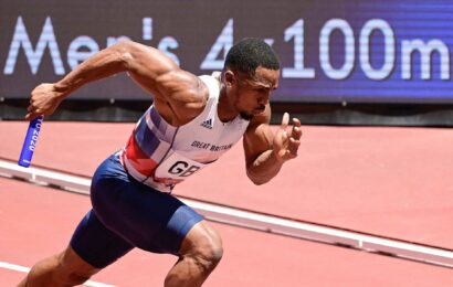 Olympic Games: CJ Ujah, silver medalist for GB in 4x100m relay, handed provisional anti-doping suspension