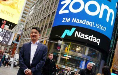 Stocks making the biggest moves in the premarket: Zoom Video, Robinhood, Designer Brands and more