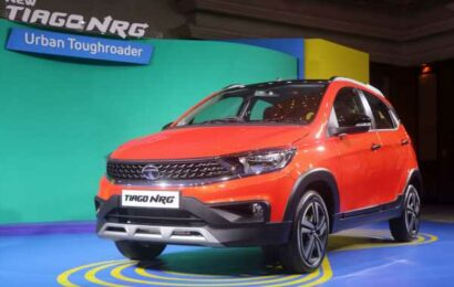Tiago NRG, a rugged hatchback from the Tata stable