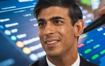 Cryptocurrency set to explode in UK? Rishi Sunak's Britcoin masterplan given green light