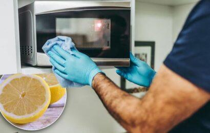 How to clean a microwave – the easy hack involving lemons