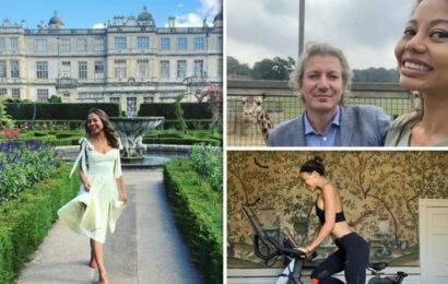 Inside Emma Weymouth's home: What's it like to live in a £157m estate and safari park?