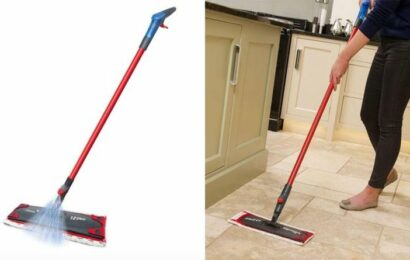 Mrs Hinch's favourite 'Vera' spray mop is now discounted by 25 percent off