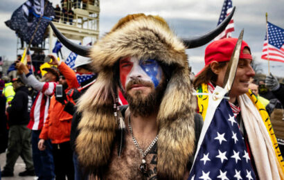 QAnon shaman Jacob Chansley pleads guilty in Capitol riot case