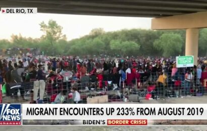 Texas Rep. Gonzales calls squalid migrant camp under Del Rio bridge 'gut-wrenching' as numbers soar
