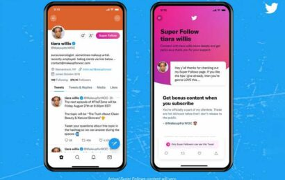 Twitter 'turns into ONLYFANS' with new Super Follows that let you pay celebs for 'premium tweets'