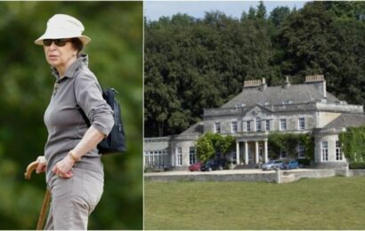 'Warm and nice interior': Inside Princess Anne's 'cosy and welcoming' royal home