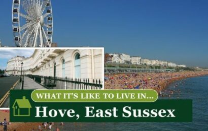 What it's like to live in… Hove, East Sussex