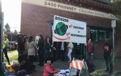 Amazon settles with employees who said they were fired over activism