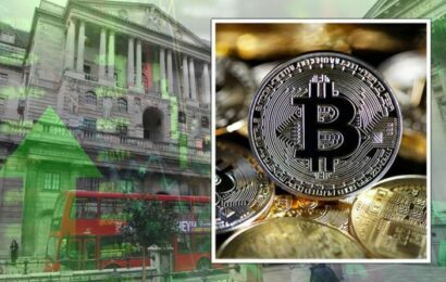 Bank of England will 'scramble to buy Bitcoin before it tops £727,000 per coin'