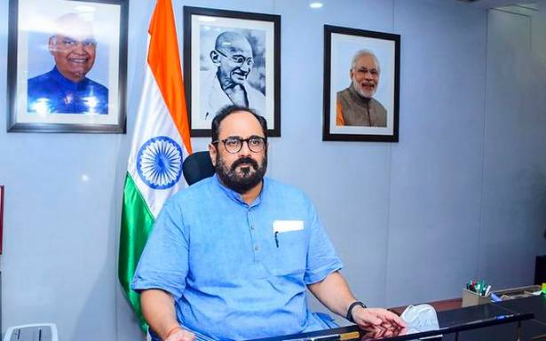 India's electronic manufacturing industry to touch $250-300 billion by 2024-25: Rajeev Chandrasekhar